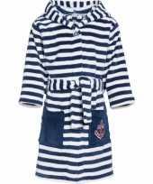 Goedkope fleece badjas maritiem voor jongens