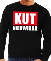 Goedkope foute oud en nieuw trui sweater kut nieuwjaar zwart voor heren