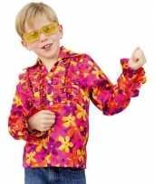 Goedkope gekleurd hippie shirts voor kinderen
