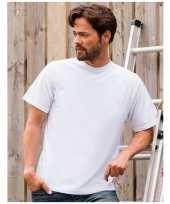 Goedkope grote maat heren t-shirts maat 4xl wit