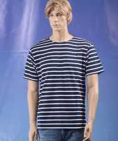 Goedkope grote maten shirts gestreept