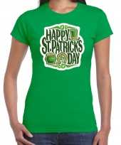 Goedkope happy st patricks day feest-shirt outfit groen voor dames st patricksday