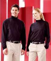 Goedkope kleren heren col t-shirt roll neck