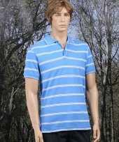 Goedkope kleren poloshirt milano blauw