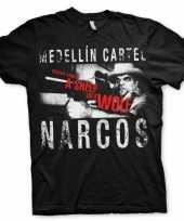 Goedkope merchandise narcos medellin cartel shirt heren