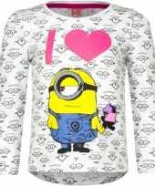 Goedkope minion t-shirt wit