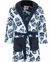 Goedkope minions ochtendjas blauw voor jongens