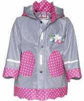 Goedkope navy roze regenjas voor kinderen