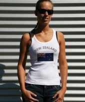 Goedkope nieuw zeelandse vlag tanktop t-shirt voor dames
