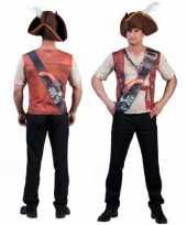 Goedkope piraten t-shirt 3d print voor heren