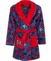 Goedkope rode blauw cars badjas voor jongens