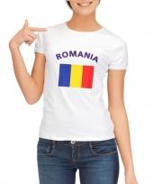 Goedkope roemeense vlag t-shirt voor dames