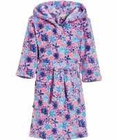 Goedkope roze bloemen badjas voor kinderen
