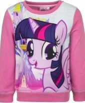 Goedkope roze my little pony trui voor meisjes