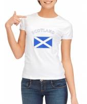Goedkope schotse vlag t-shirt voor dames