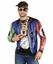 Goedkope shirt met rapper opdruk