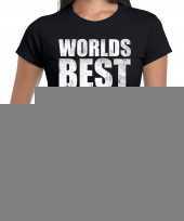 Goedkope worlds best coach werelds beste coach cadeau shirt zwart voor dames